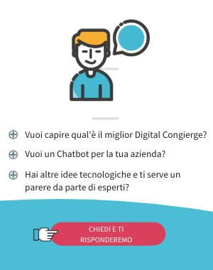 Consulenza Digital Congierge e Chatbot